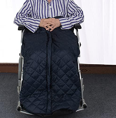 Winter Manta de Protección para Silla de Ruedas, protección Impermeable a Prueba de Viento, Forrada con Forro Polar, acogedora Funda para piernas Apta para sillas de Ruedas manuales y eléctricas ✅