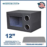 "12"" Single Bandpass Sub Box / 12"" Single ported sub Box - 36 HZ"