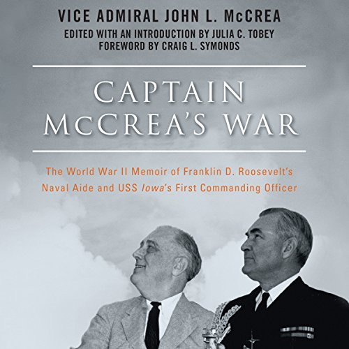 Captain McCrea's War audiobook cover art