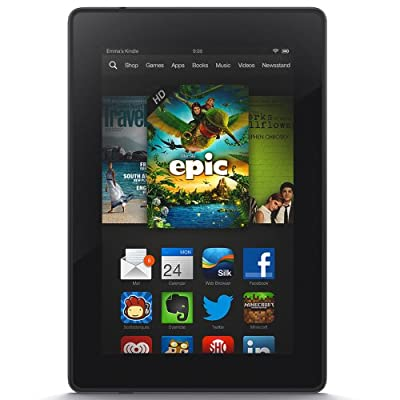 """Kindle Fire HD 7"""", HD Display, Wi-Fi, 16 GB - Includes Special Offers (Previous Generation - 3rd)"""