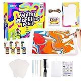 Ulikey Kit de Pintura Marmoleada Juguetes, Pintar Juegos para Niños, Manualidades Kit de Pintura, DIY Pintura de Mármol, Creativo Regalo de Pintura para Actividades Infantiles Cumpleaños