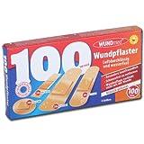 Wundmed Reise Pflaster Set 100 Stück wasserfest Wundpflaster 0055