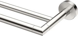 Gatco Glam Double Towel Bar, Satin Nickel, 24 Inch, Double Bar