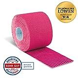 AktiMed Tape Plus–Physio de Tape Kinesio para kinesiologisches Taping–5m–rosa