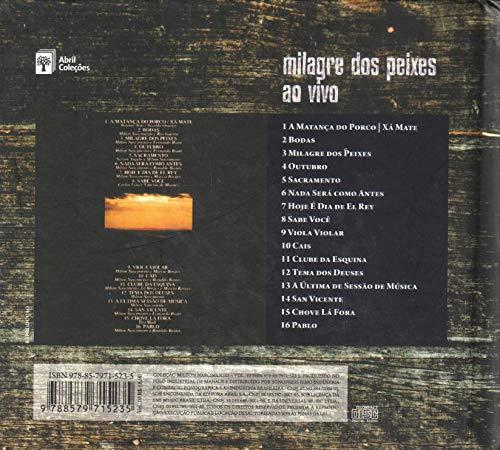 Livro + CD Milton Nascimento - Milagre Dos Peixes Ao Vivo