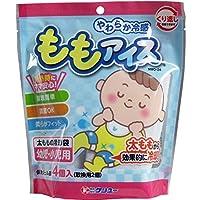 やわらか冷感 ももアイス 太ももの冷却袋 幼児・小児用 4個入×6個セット