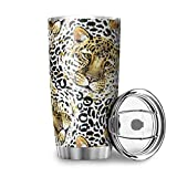 Bannanabut Vaso de viaje de doble pared aislado al vacío taza de viaje con tapa de 20 onzas taza de café vaso de acero...