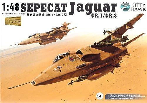 KTH80106 1 48 Kitty Hawk Sepecat Jaguar GR.1   GR.3 MODEL KIT by Kitty Hawk