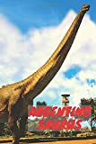 Argentinosaurus: Notebook With Dinosaur, Notebook For Notes, Drawing and Writing, Lined (Cartoon Cover, 110 Pages,6 x 9)