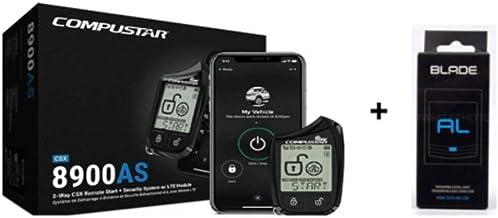 $295 » Compustar CSX8900-AS 2-Way CSX Remote Start + Security W/LTE W/Blade-AL & Drone - Free AIR FRESHENER !