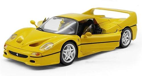 HBWJSH Auto Spielzeug Modell 1 18 Legierung Modellauto Modellauto, Größe  26X10X6CM (gelb)