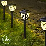Solpex Solar Pathway Lights Outdoor, LED Solar Garden Lights, Waterproof Solar Landscape Lights for...