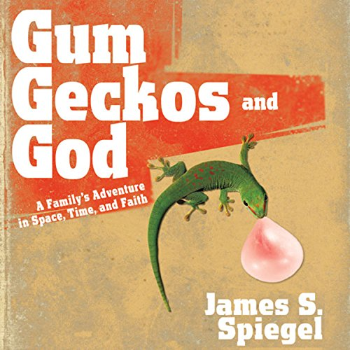 Gum, Geckos, and God audiobook cover art