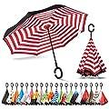 Sharpty Inverted, Windproof, Reverse Umbrella for Women…