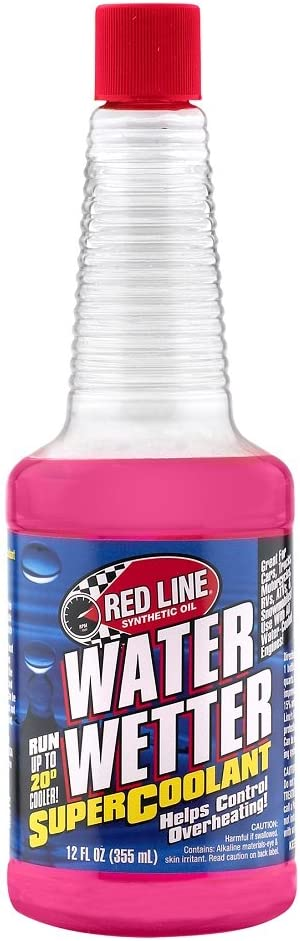 Red 25% OFF Line 80204 Water Wetter - 12 Bottle Oz Additives Daily bargain sale Coolant