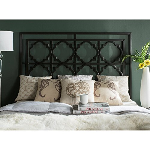 Silva Antique Iron Headboard