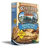 Original WhistleStop Cafe Recipes | Seafood Batter for Baking or Frying Fish | 9-oz | 1 Box