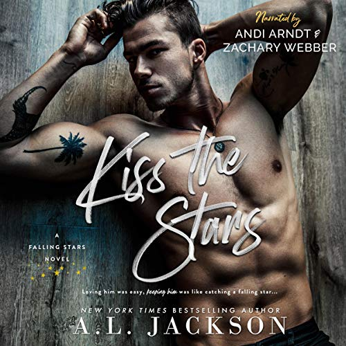 Kiss the Stars audiobook cover art