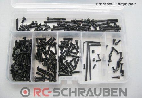 Schrauben-Set für den LRP S10 Blast TC-BX-TX-SC -hochfester Stahl-