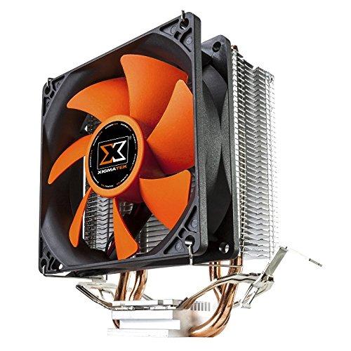 Xigmatek en8446 TYR sd962b CPU disipador de Calor y Ventilador con Tubos Directa tecnología táctil – Negro: Amazon.es: Informática