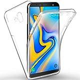 AROYI Coque de protection intégrale en cristal de silicone transparente à 360 degrés pour Samsung...