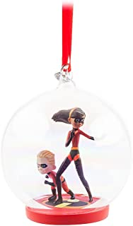 Disney The Incredibles Glass Globe Sketchbook Ornament