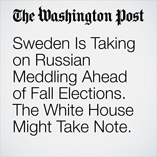 Sweden Is Taking on Russian Meddling Ahead of Fall Elections. The White House Might Take Note. copertina