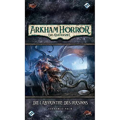 Arkham Horror: Kartenspiel LCG - Die Labyrinthe des Irrsinns - Szenario-Pack | Deutsche Version