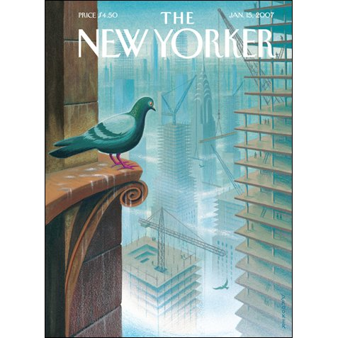 The New Yorker (Jan. 15, 2007) audiobook cover art