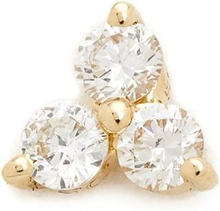 Best diamond trio stud earrings Reviews
