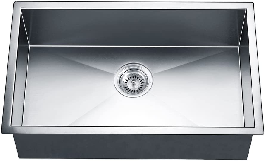 Dawn DSQ2816 Undermount Single Bowl Square Atlanta Mall Satin Cheap super special price Polished Sink