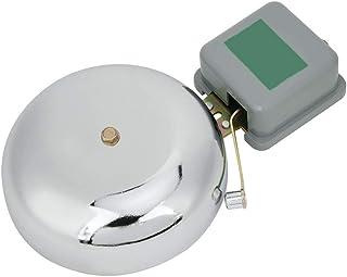Electric Bell Stainless Steel School Bell Non‑Sparking External Beat Type Factory Warehouse Break Alarm Bell 150mm AC220V