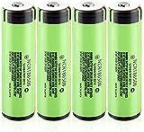 NCR 18650B Batería 3,7 V 3400 Mah 18650 Batería De Litio Recargable Descarga 20A para 4 Pilas De Linterna