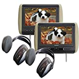Audiovox Movies2Go - Two AVXMTGHR9HD 9'...