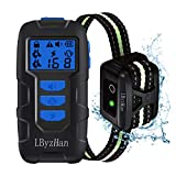 LByzHan Dog Shock Collars with Remote, Dog Training Collar w/3 Modes, Safety Lock, IPX7 Waterproof,...