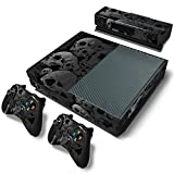 DAPANZ Skull Skin Sticker Vinyl Decal Cover for Xbox One Console Kinect 2 Controllers