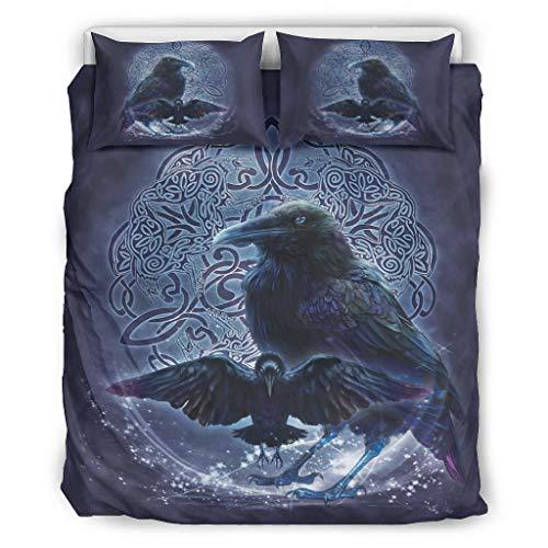 Butterfly Goods Tagesdecken leicht und weich - Bettdecken-Sets 1 Bettbezugund2 Kissenbezüge lichtwiderstandsfähig White 229x229cm