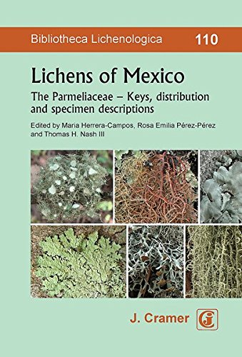 Lichens of Mexico: The Parmeliaceae - Keys, distribution and specimen descriptions (Bibliotheca Lichenologica)