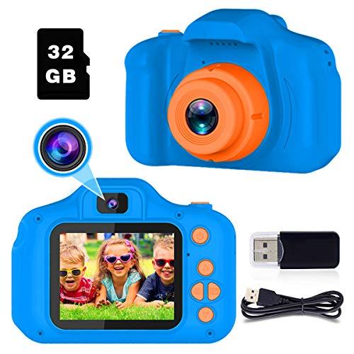 Regali per ragazze di 3-8 anni Joy-Fun Macchina Fotografica Digitale 8.0 MP Macchine Fotografiche per Bambini Video Disco Elettronico Giocattolo Regali di Compleanno