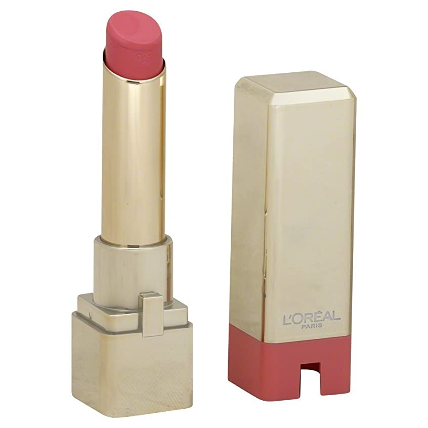 内訳レギュラー省L'Oreal Colour Riche Caresse Lipstick, 170 Cotton Pink - 0.1 Oz, Pack of 2