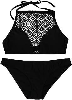 ❣️Women Sandy Beach Push-up Padded Bra Sexy Bikini Swimsuit Set Beach Swimwear Beachwear