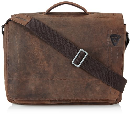 Strellson Herren Richmond BriefBag L Henkeltaschen, Braun (Dark Brown 702), 40x29x12 cm