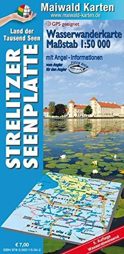 Wasserkarte Strelitz = Wassewanderkarte...
