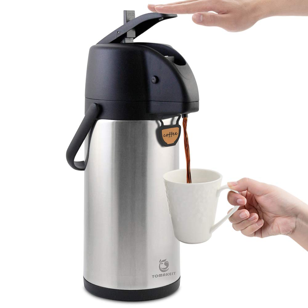 TOMAKEIT Insulated Stainless Beverage Dispenser