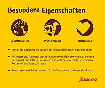 JOSERA Balance (5 x 900 g) | Nourriture sèche pour Chiens âgés | sans Gluten | Super Premium pour Chiens âgés | Lot de 5
