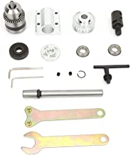 Control DIY Mini CNC Machine,Kit de Montaje de Ensamblaje del Husillo sin Motor con B12 Portabrocas M10 Manga Utilizado para Brocas de Bricolaje,Fresas de Banco,Sierras de Mesa