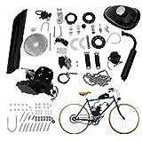 XSSFCC 80CC Bicycle Engine Kit, Motorized Upgrade Bike 2-Stroke Conversion Kit, DIY Petrol Gas Engine Bicycle Motor Kit Set 2L Oil Tank for 26'& 28' Bikes (80cc Set)