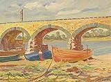 "Realism Landscape 1980 32.6 x 44.3cm (12.8"" x 17.4"")Sheet: 35.7 x 47cm (14.1"" x 18.5"") Henry E. Foster (1921-2010) Framed: No Original Artwork: Yes"