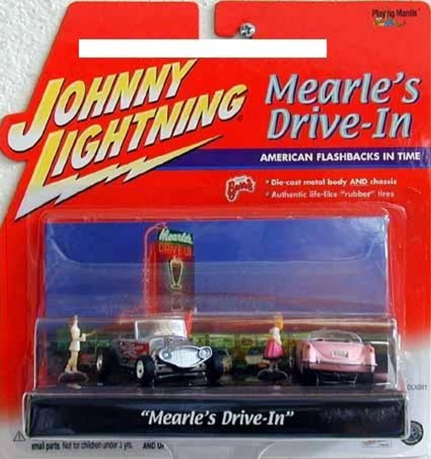 Johnny Lightning Mearle's Drive-In 1 64 Scene Cars and Figures
