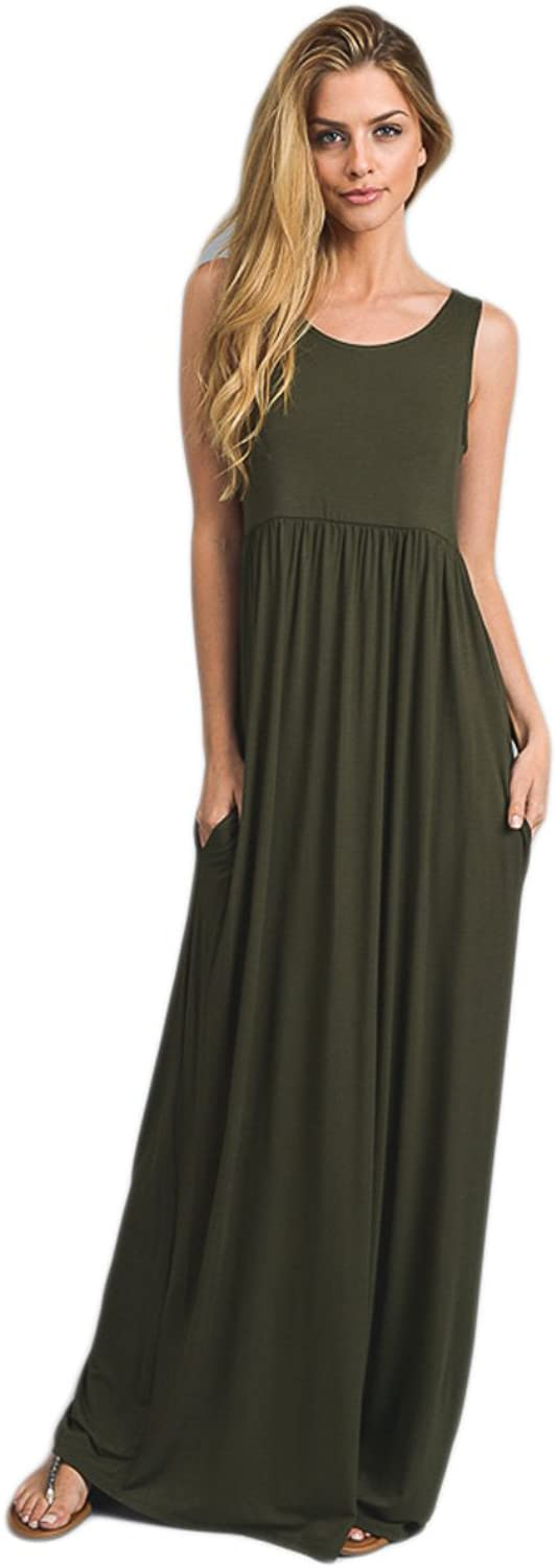 Vanilla Bay Signature Racerback Maxi Dress